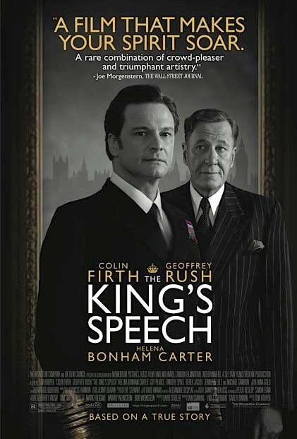 Plakat King's Speech